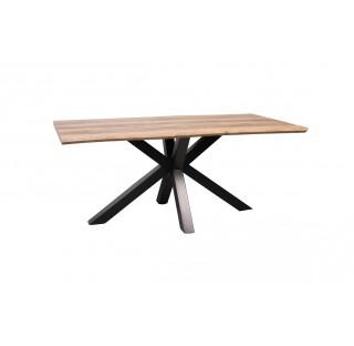 TABLE DE SEJOUR RECTANGULAIRE PIED CROIX
